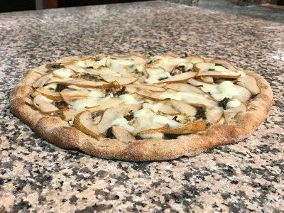 Pizza Asparagi e Pere